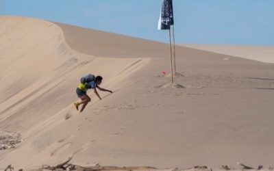 The West Arms' Mark Williamson takes on 4 Deserts Ultra Marathon for Parkinson's UK