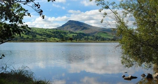 Llyn Tegid, Bala, the largest natural lake in Wales, is under an hour from The West Arms