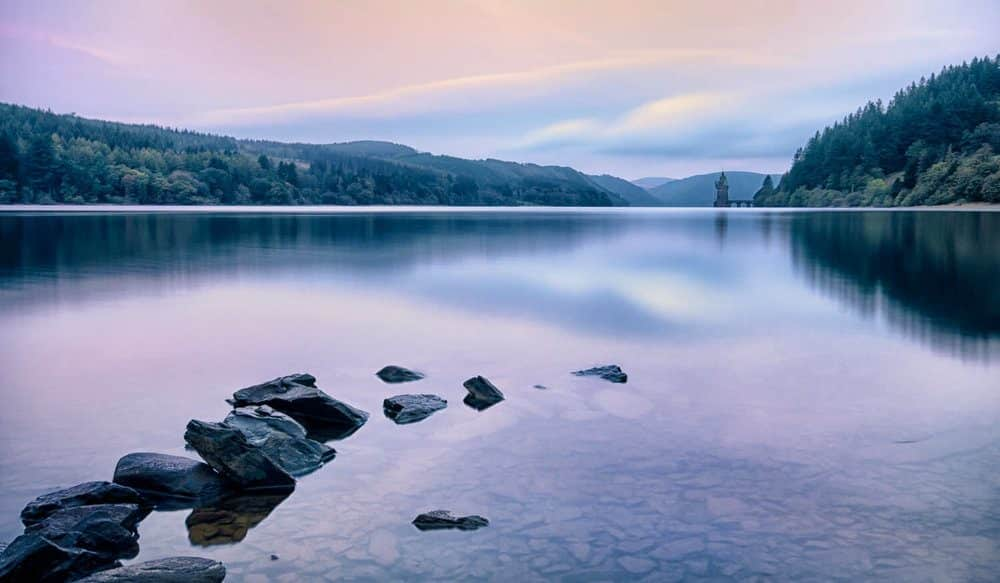 Lake Vyrnwy: a popular attraction for bird watching, sailing and stargazing