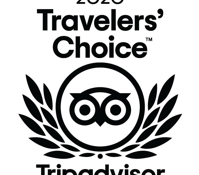 The West Arms Wins 2020 Tripadvisor Travelers' Choice Award
