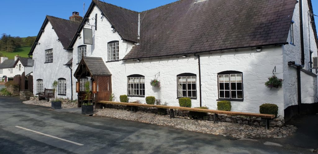 The West Arms featured as a top 25 pubs for a staycation