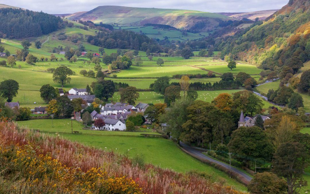 autumn break in North East Wales